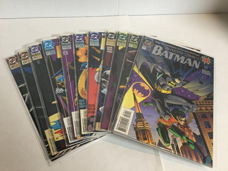 Detective Comics 0 671 672 673 674 675 676 677 678 679 680 Near Mint- DC A13