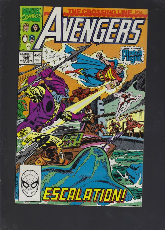 The Avengers #322 (1990)