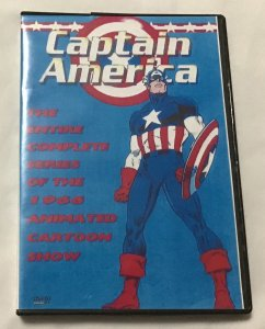 Captain America 1966 series, DVD, 39 episodes (2nd)