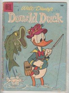 Donald Duck #54 (Jul-57) FR/GD Affordable-Grade Donald Duck