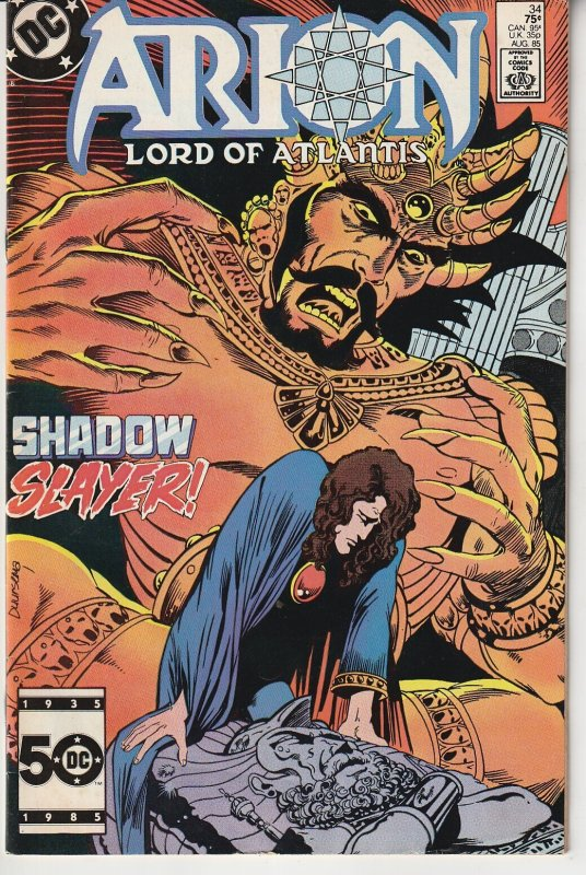 Arion Lord of  Atlantis # 31  Council of  Wizards !