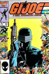 G.I. Joe: A Real American Hero (1982 series) #53, Fine (Stock photo)