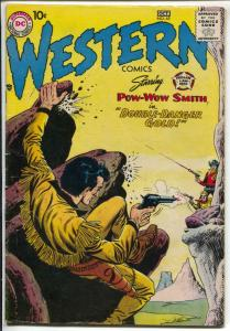 Western #65 1957 DC-Pow-Wow Smith-glossy cover-VG+