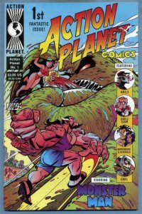 ACTION PLANET #1, NM, Mike Manley, 1996, more in store