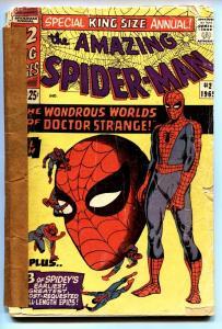 AMAZING SPIDER-MAN ANNUAL #2 comic book-1965-DOCTOR STRANGE