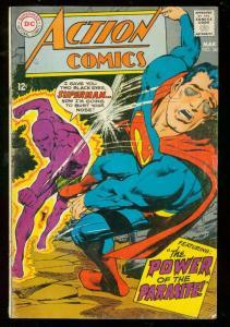 ACTION COMICS #361 1968-SUPERMAN-2nd PARASITE-ADAMS ART VG