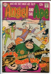 ANGEL AND THE APE #1 1968-DC COMICS-BOB OSKNAR-FIRST ISSUE-vf minus