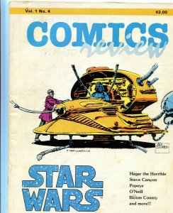 Comics Review Vol.1 4 VG+ Al Williamson Star Wars