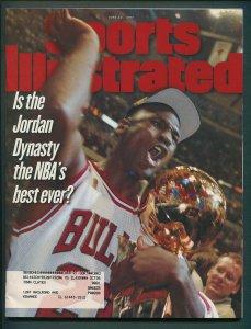 Sports Illustrated / June 1997 / Michael Jordan /  9.0 VFN/NM