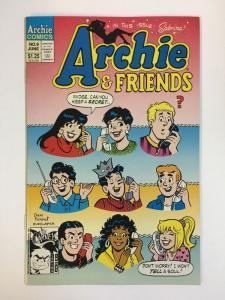 ARCHIE & FRIENDS (1992)9 VF-NM  Jun 1994 COMICS BOOK
