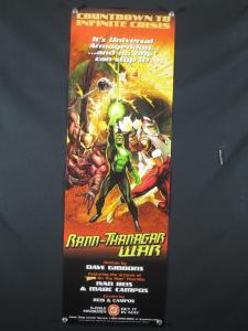 Rann Thanagar War DC Comics Promo Poster 2005 34x11
