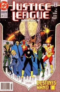 Justice League (1987 series) #72, NM- (Stock photo)