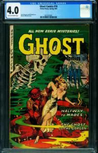 Ghost #10 CGC 4.0 1954 Fiction House-pre-code horror 2019323001