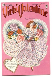 Vicki Valentine #3 1986- BILL WOGGON-- Paper Dolls- VF/NM