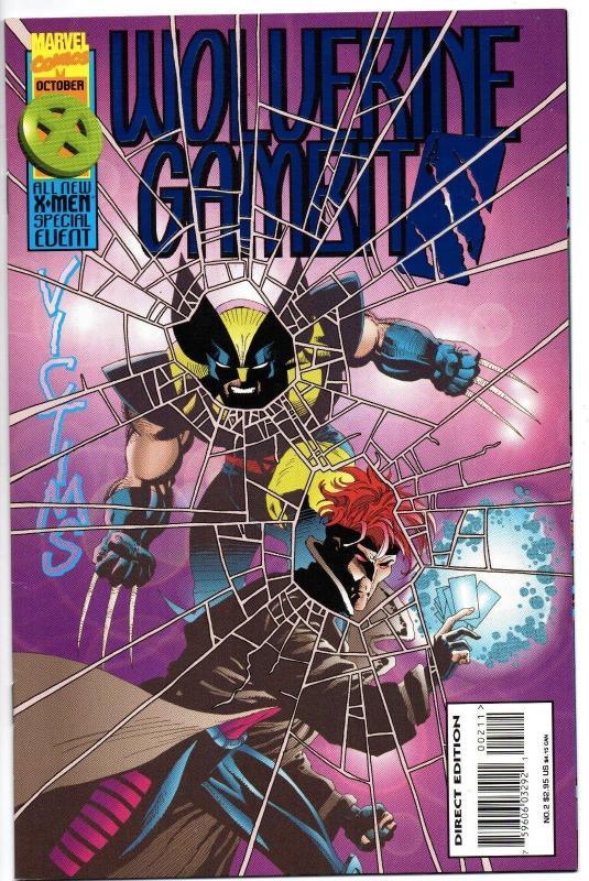 Wolverine / Gambit: Victims #2 (Oct 1995, Marvel)