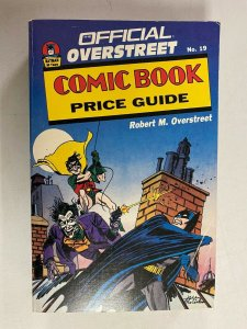 Overstreet Price Guide #19 Softcover 6.0 FN (1989)