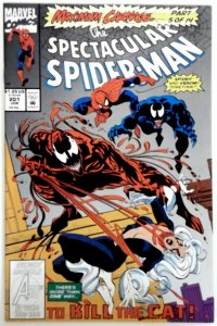 SPECTACULAR SPIDER-MAN #201 202 203  NM- MAXIMUM CARNAGE SPIDER-MAN VENOM MARVEL