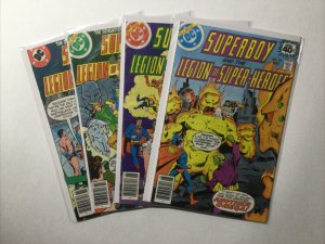 Superboy 251-253 251 252 253 257 Lot Vf 8.0 Issue 253 Is Vg+ 2.5 Dc Comics