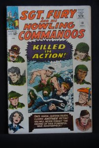 Sgt. Fury and his Howling Commandos, 18, Rare!