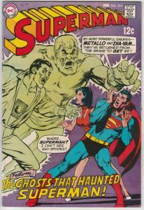 Superman #214 (Feb-69) VF/NM High-Grade Superman, Jimmy Olsen,Lois Lane, Lana...