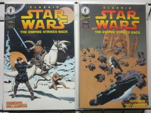 CLASSIC STAR WARS EMPIRE STRIKES BACK 1-2 AL WILLIAMSON