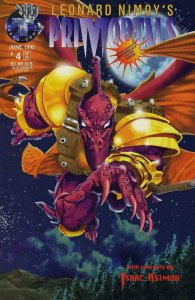 PRIMORTALS #4, NM+, Isaac Asimov, LEONARD NIMOY, 1995, more Indies in store