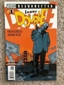 JONNY DOUBLE - Collected Story - Vertigo Graphic Novel Azzarello (100 Bullets)