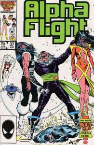Alpha Flight (1st Series) #37 VF; Marvel | save on shipping - details inside
