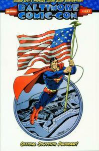 Baltimore Comic-Con Program #2002 VF; Baltimore Comic-Con   save on shipping - d