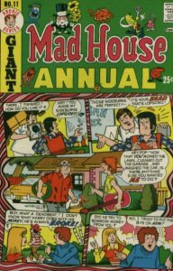 Mad House Annual #11, Fine- (Stock photo)