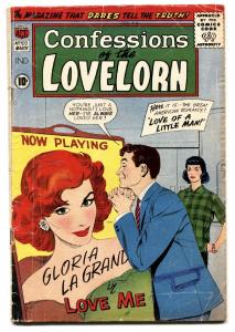 Confessions Of The Lovelorn #103 ACG 1959 Romance-LOVE OF A LITTLE MAN!