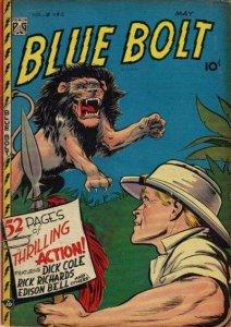 Blue Bolt (1948 series) #12, Good+ (Stock photo)