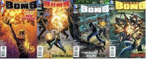 HUMAN BOMB (2013) 1-4  complete mini-series!
