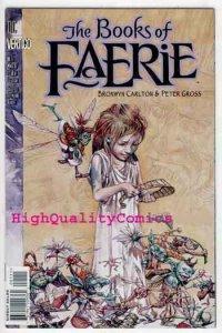 BOOKS of FAERIE #1, NM+, Peter Gross, 1997, Fairy, more Vertigo in store