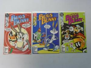 Bugs Bunny (1990 DC 1st Series) Set #1-3 8.0/VF
