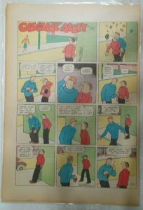 (19) Gasoline Alley Sunday Pages by Frank King from 1937 Size: 11 x 15 inches