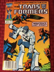 Transformers #25 1987 Megatron's Last Stand! Marvel Comics VF/VF+
