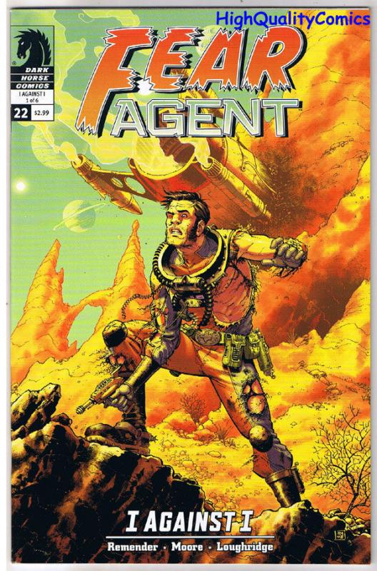 FEAR AGENT #22, VF, Sci-Fi, I Against I, Rick Remender, 2008, more in store
