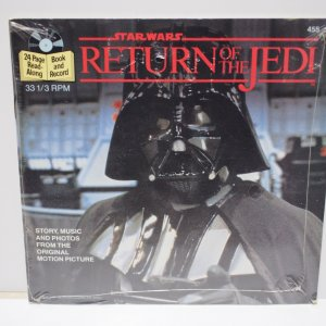 Star Wars Return of the Jedi 24 Page Record and Book Factory Sealed!