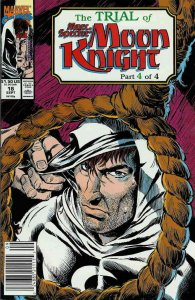 Marc Spector: Moon Knight #18 (Newsstand) VF; Marvel   save on shipping - detail