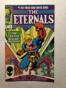 The Eternals 1 Near Mint Nm Marvel