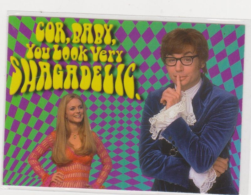 1999 Austin Powers the Spy Who Shagged Me Promo Card #P3