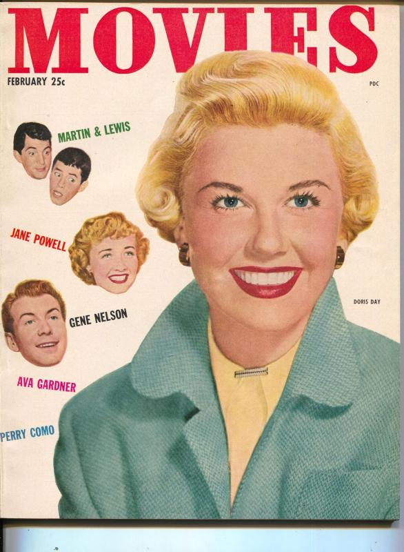 Movies-Doris Day-Bing Crosby-Gregory Peck-John Wayne-Feb-1952