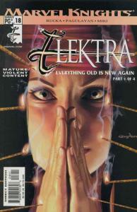 Elektra (3rd Series) #18 FN; Marvel | save on shipping - details inside
