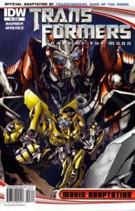 Transformers Dark of the Moon Movie Adaptation #3, VF+ (Stock photo)