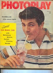 Photoplay-Tommy Sands-Ingrid Bergman-Elvis Presley-Jerry Lewis-Sept-1957