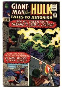 TALES TO ASTONISH #69 1965-GIANT MAN-HULK-JACK KIRBY-BOB POWELL-fn