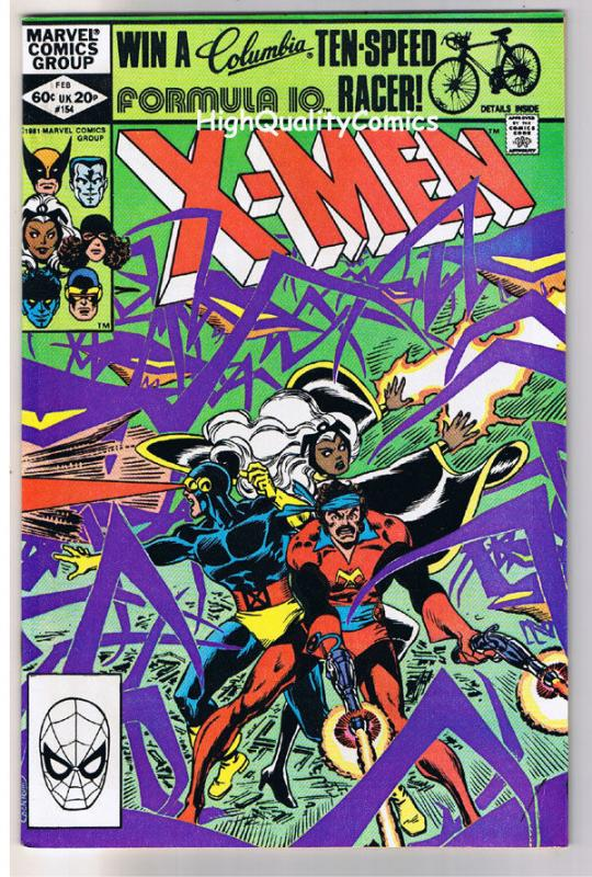 X-MEN 154, NM-, Uncanny, ReUnion, Wolverine, 1963, more in store