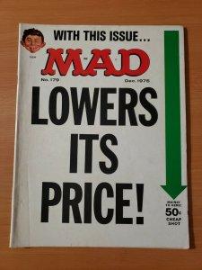Mad Magazine #179 ~ VERY FINE VF ~ DECEMBER 1975