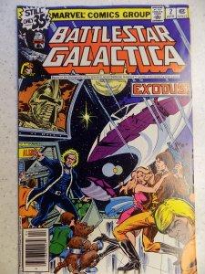 BATTLESTAR GALACTICA # 2 MARVEL BRONZE TV HI GRADE